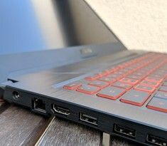 Asus TUF Gaming FX705DY Notebook im Test