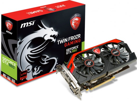 MSI kündigt GTX 660 Gaming-Series an