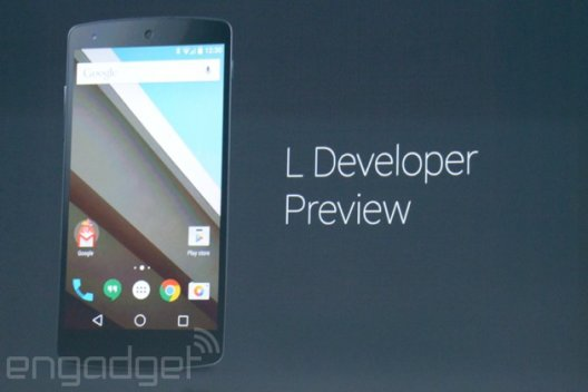 "Android L: Google zeigt neue Android-Version und Referenz-Reihe ""Android One"""