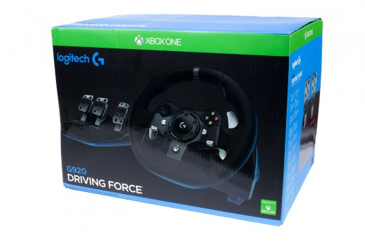 Logitech G920 Driving Force Lenkrad im Test