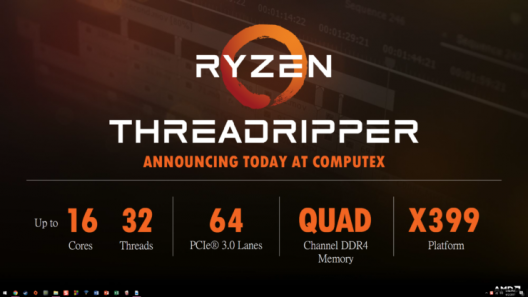 AMD Ryzen Threadripper: 16 Kerne ab 849 US-Dollar - X399-Mainboards werden teuer