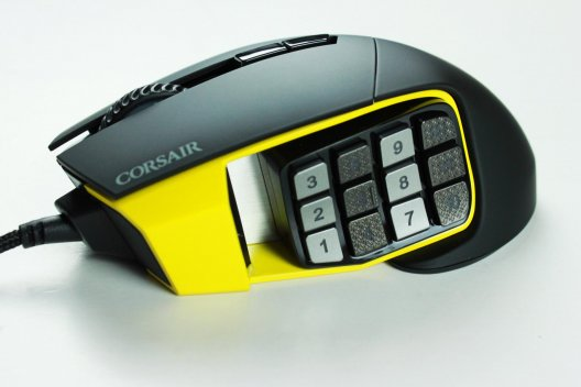 Corsair Scimitar Pro RGB Gaming Maus im Test