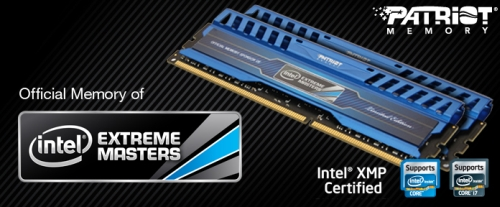 Patriot bringt Intel-Extreme-Masters-Limited-Edition-Speicher