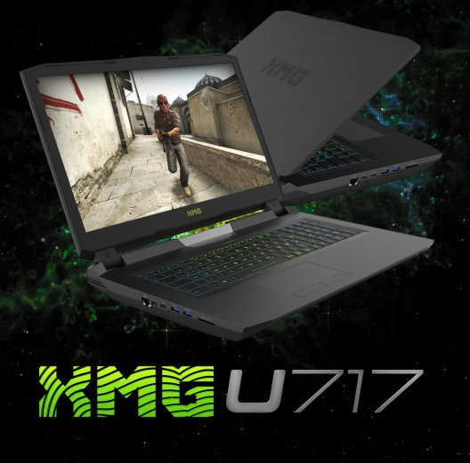 E-Sport: XMG mit Custom-Version des U717 Ultimate