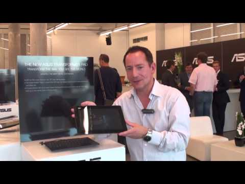 IFA 2013: Asus New Transformer Pad - High-Res-IPS-Panel & Tegra 4