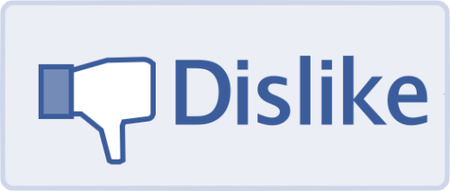 Dislike-Button wird in Facebook implementiert
