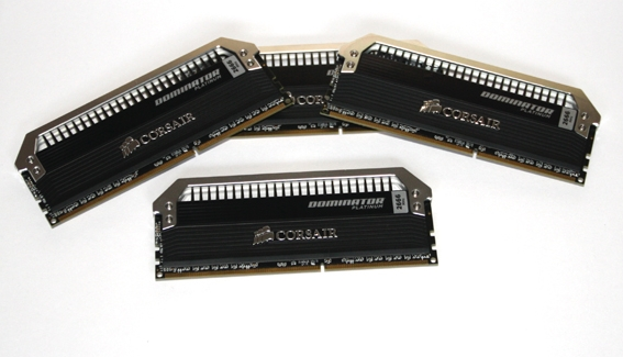 Corsair Dominator Platinum DDR3-2666 CL10 RAM