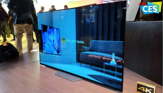 CES 2018: Sony zeigt blendend helles HDR-Display