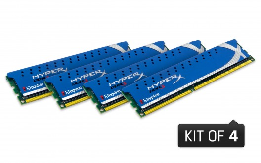HyperX Genesis: Auch Kingston mit Quad-Channel-Speicher für Sandy Bridge E