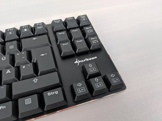 Sharkoon Pure Writer TKL im Test (8/18)