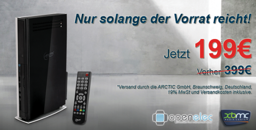 MK001-XBMC: ARCTIC stellt neues Media-Center vor (1/1)