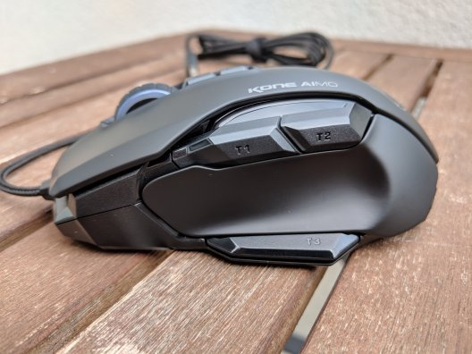 Roccat Kone Aimo Gaming Maus im Test (7/15)