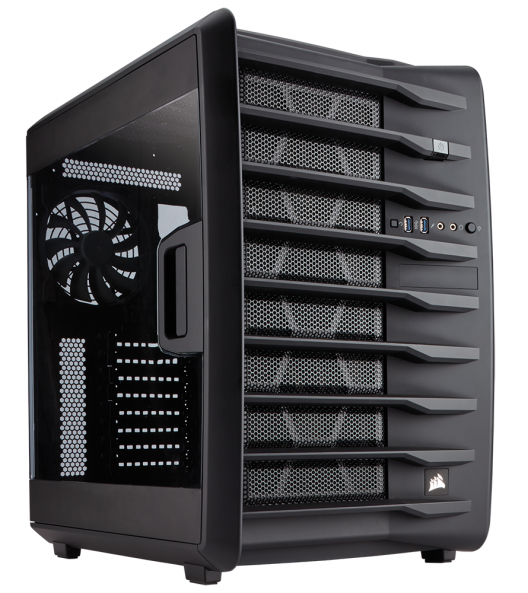 Corsair Carbide Series Air 740 im Test (4/6)