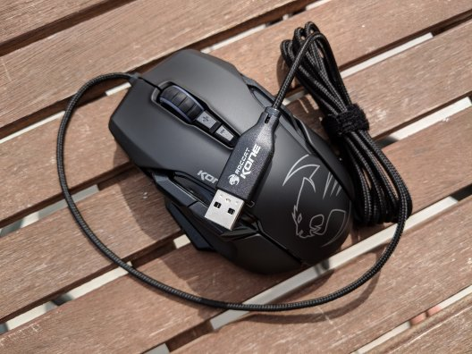 Roccat Kone Aimo Gaming Maus im Test (5/15)