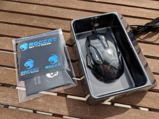 Roccat Kone Aimo Gaming Maus im Test (4/15)